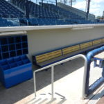 New dugouts at Bowman Field